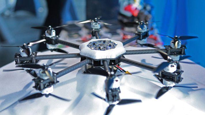 Demo station drone