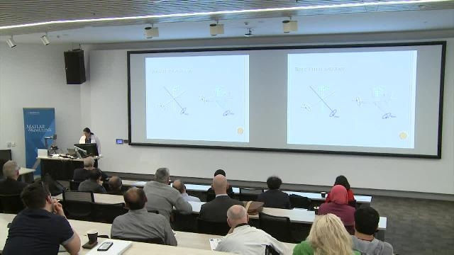 This presentation discusses how MATLAB was used in detecting moving objects in aerial imagery captured from UAVs.