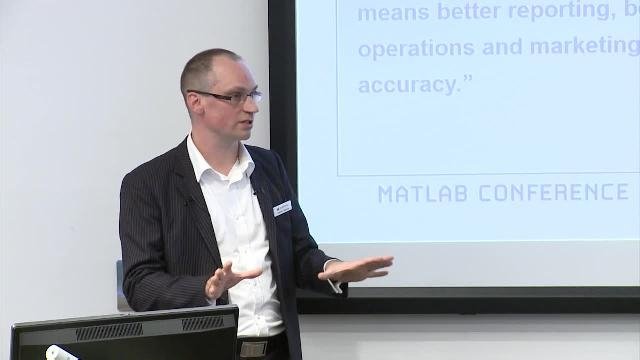 This presentation focuses on MathWorks Consulting Services. Kevin Rzemien shares customer success stories and how companies saved time and money while learning more about MATLAB and Simulink.