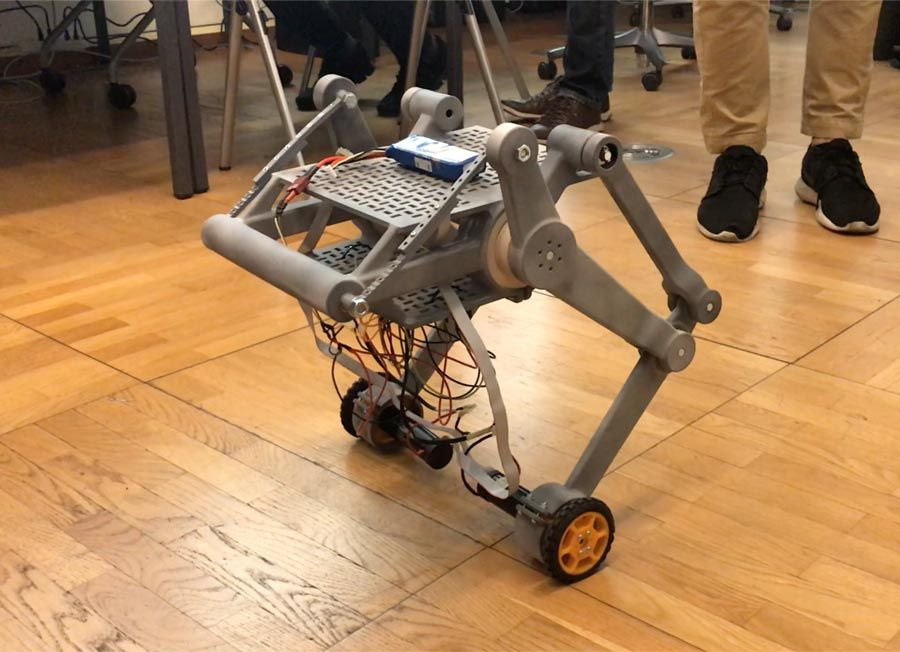 Ascento Robot First Prototype