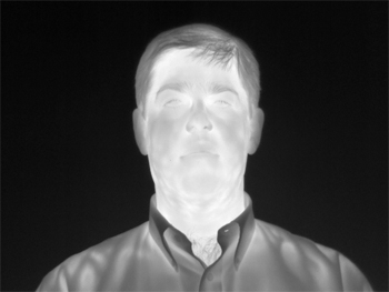 Figure 2. Thermal IR image with contrast adjustment.