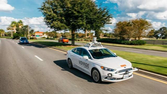 Developing Longitudinal Controls for a Self-Driving Taxi