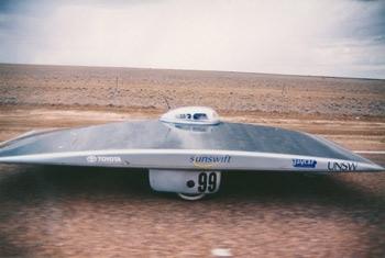 Figure 3. Sunswift 1, developed in 1996.