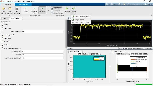 Model, simulate, design and test 5G wireless communications systems with MATLAB.
