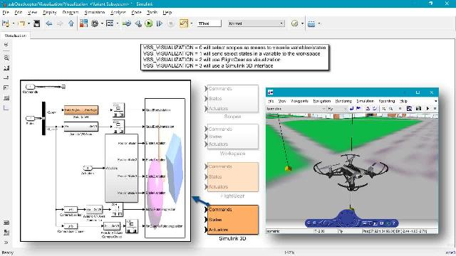Learn how to simulate and deploy flight controllers for a palm-sized quadcopter using the Simulink Support Package for PARROT Minidrones.
