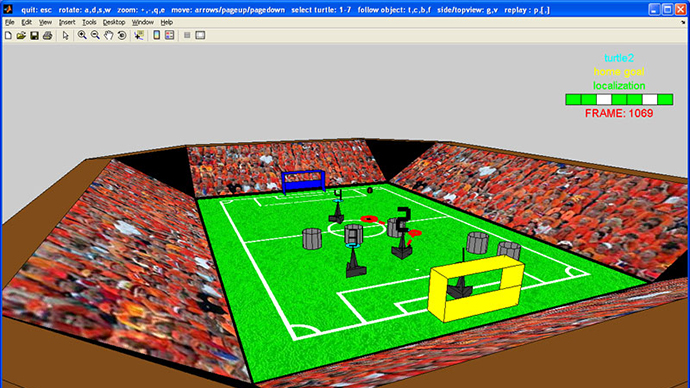 Technische Universiteit Eindhoven Takes Prize in Robot Soccer Competition Using MATLAB and Simulink