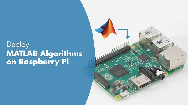 Learn how you can use MATLAB Coder Target for Raspberry Pi to deploy and run your MATLAB algorithm as a standalone application on a Raspberry Pi.