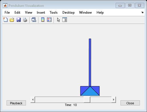 Inverted Pendulum with Animation - MATLAB & Simulink