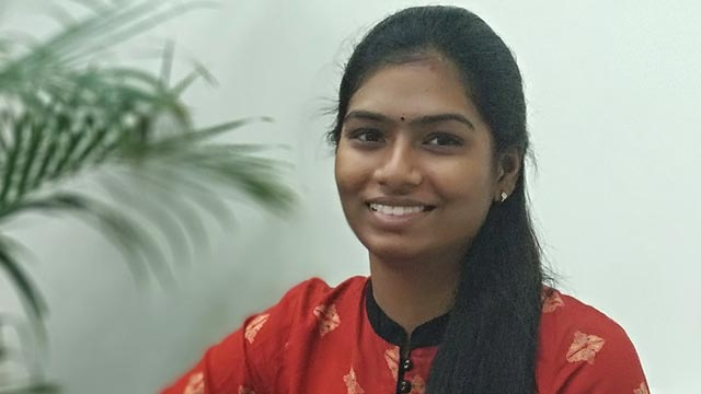 Saranya, Associate Software Engineer, Hyderabad