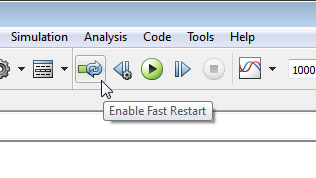 Fast Restart and Simulation Stepper for Accelerated Models