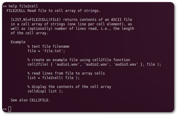 File I O For Cell Arrays File Exchange Matlab Central