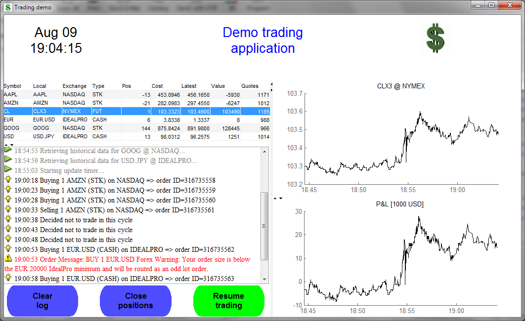 Realtime trading with Matlab presentation files - File