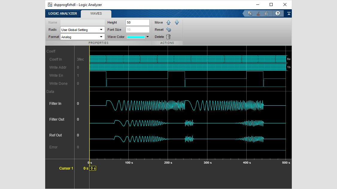 Partly serial systolic FIR filter structure