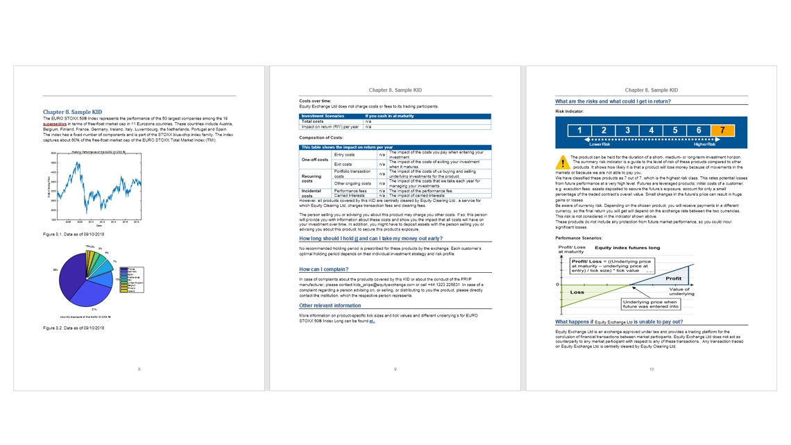 Define report layouts and formatting with templates.