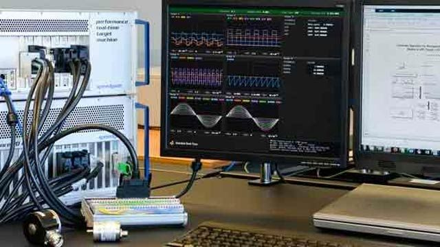 Speedgoat hardware for rapid prototyping and hardware-in-the-loop simulation.