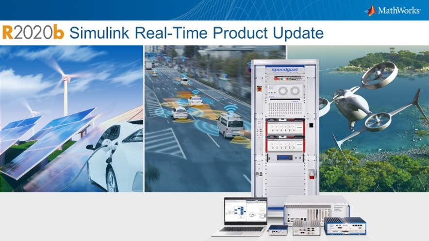Release 2020b of Simulink Real-Time is a major update with several feature enhancements and a licensing change. Get an overview of the updates and capabilities that will help you get started with the latest version of Simulink Real-Time.