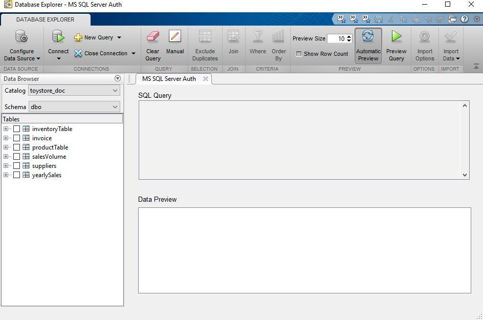 Database Explorer App