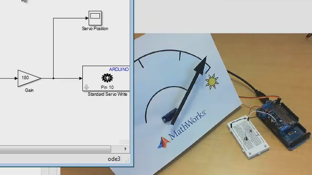 Take an algorithm developed in MATLAB and program it onto an Arduino board using Simulink. It is possible to apply this approach to a wide range of Arduino projects.