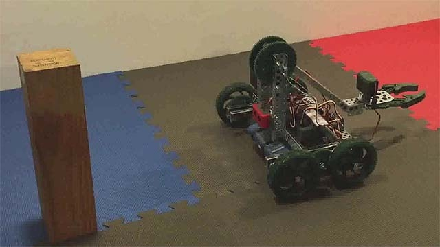 Learn how to design a controller to make a smooth stop when your robot detects an obstacle.