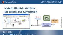 In this webinar we will demonstrate how to model, simulate, and deploy a hybrid electric vehicle in the MATLAB & Simulink environment. The electrical, mechanical, thermal, and control systems are tested together to detect integration issues and optim