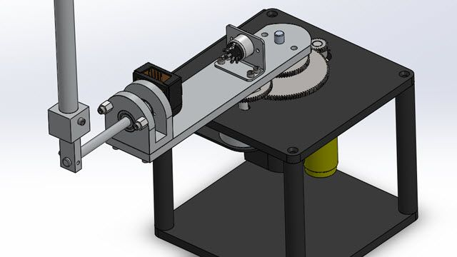 Design a controller for a rotary inverted pendulum using a SimMechanics model imported from CAD. Generate code using QUARC and test the controller on Quanser real-time hardware.