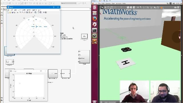 Simulation is a great way to test and tune control algorithms for quadcopters. Julien Cassette talks about using Simulink, Robotics Operating System (ROS), and Gazebo to simulate quadcopter missions from student competitions.