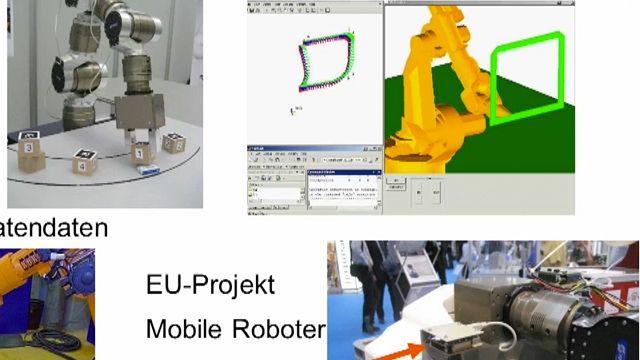 In diesem Vortrag wird die Verwendung von MATLAB im Kontext der Robotersteuerung präsentiert.