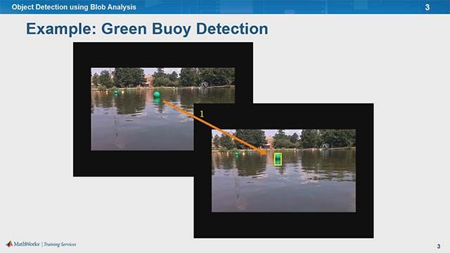 Learn to detect objects using blob analysis and in doing so, learn how to perform color space conversion, thresholding, morphological operations, and video annotation.