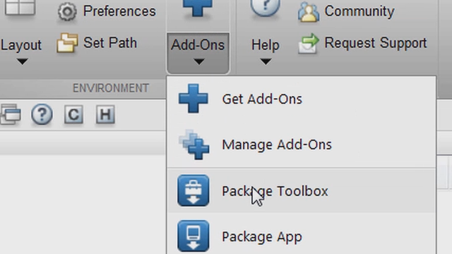 Package your custom MATLAB toolbox into a single, installable file.