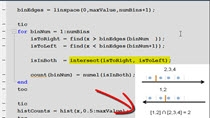 Sometimes the performance of MATLAB code can depend greatly on the algorithm or the specific functions called. In this example, we show how we use the profiler (and good knowledge of logical indexing in MATLAB) to speed up some MATLAB code by nearly