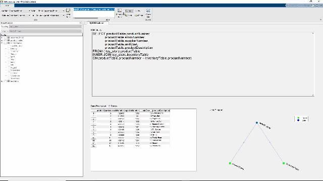 Overview of the Database Explorer App, covering the core workflow of exploring relational data without requiring knowledge of SQL, importing data into MATLAB, performing analysis in MATLAB, and making results reproducible.